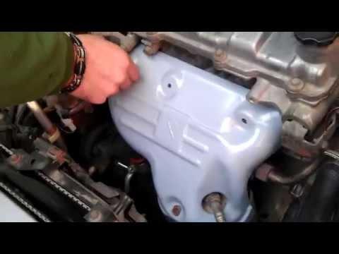 Autolife blog красим защитный экран двигателя на Mazda Protege