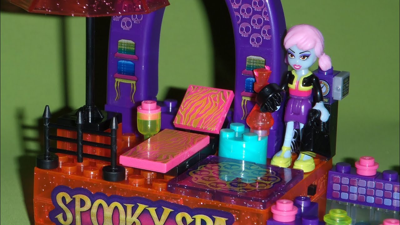 Lite Brix Moonlight Monsters - Spooky Spa from Character Building ...