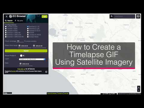 How to Create a Time-lapse GIF Using Satellite Imagery