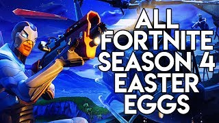 All New Fortnite Season 4 Easter Eggs & Secrets