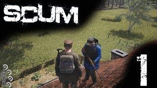 SCUM Gameplay DE #001 Wir lernen SCUM