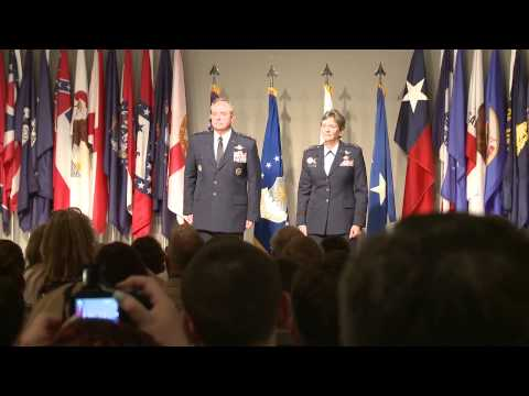 Gen. Welsh promotes Lt. Gen. Ellen M. Pawlikowski to the rank of General