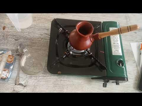 Готовим кофе в керамической турке Нона 250 мл