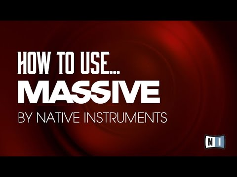 Getting Started with Native Instruments Massive