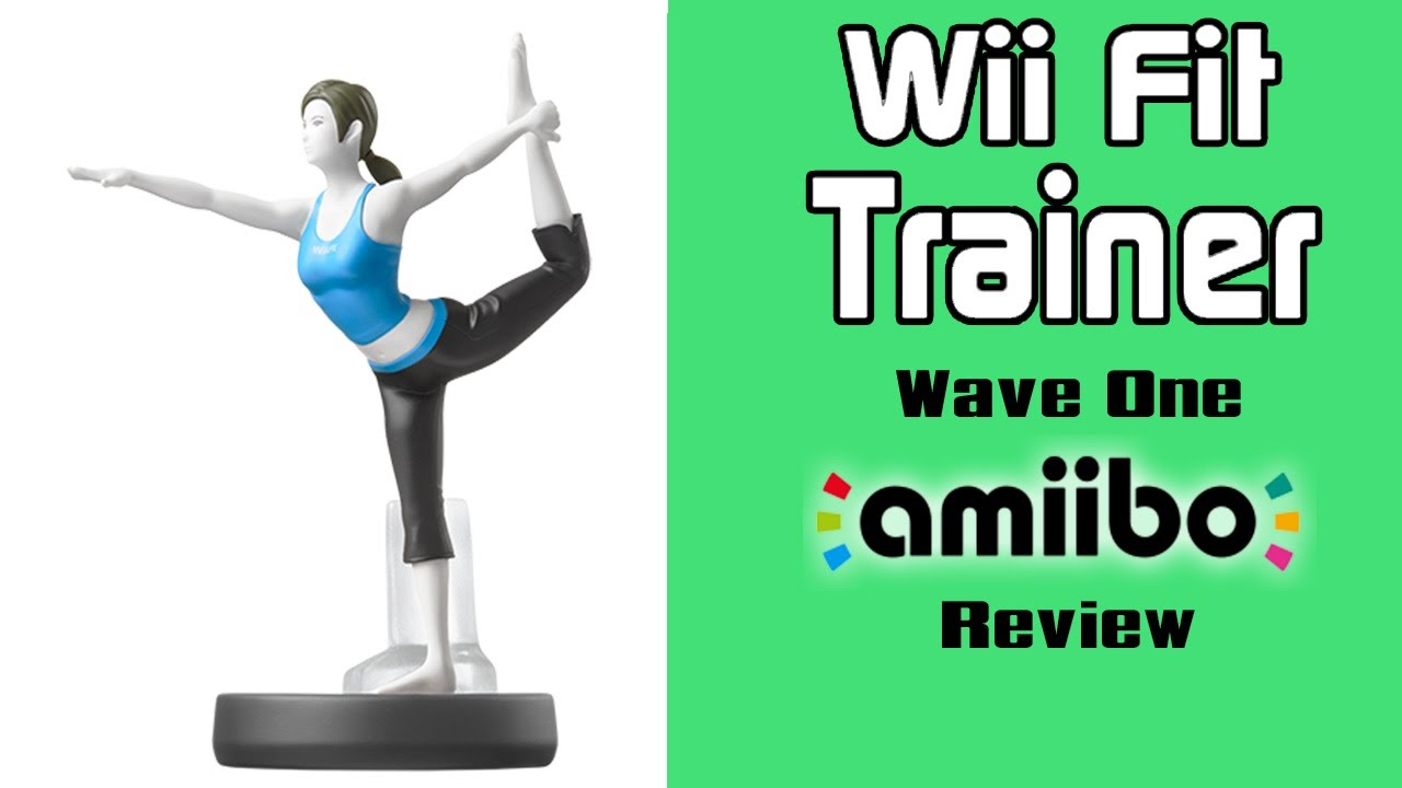 Wii Fit Trainer - Super Smash Bros. Amiibo Video Review ...