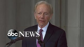 Joseph I. Lieberman tribute to John McCain