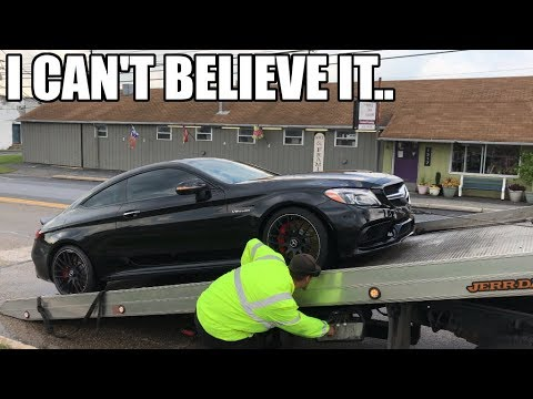 In SHOCK.. The Mercedes is MORE than broken.. AGAIN I WISH this was clickbait