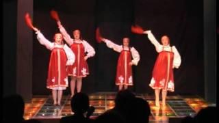 Русский танец Калинка - малинка(http://vk.com/jasmin.korolyov Театр-студия восточного танца