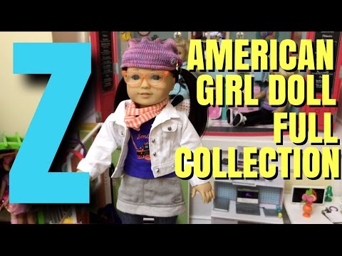 American Girl Doll Z Yang - Full Collection - Unboxing - NEW