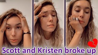 Kristen Speaks Out More About The Break Up with scott !! | Vlogsquad instagram stories