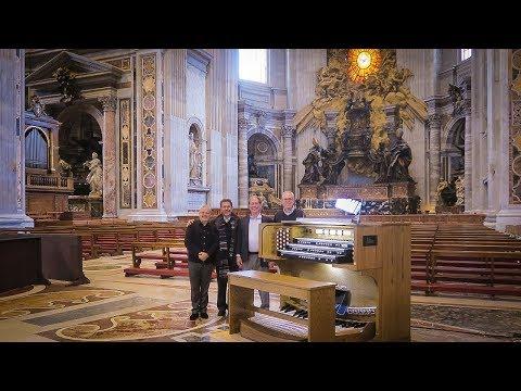 Pennsylvania company installs organ at the Vatican