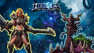 Heroes of the Storm   Сад Ужасов   Соня & Загара