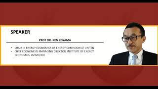 Live Webinar by Professor Dr. Ken Koyama