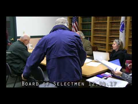 Board of Selectmen 12.04.17