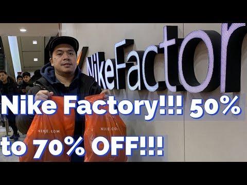 Secret NIKE Factory Outlet in Seoul!!! | Gasan Digital Complex | Seoul