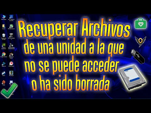 Cómo Recuperar Archivos De Disco Duro, Pendrive O SD Card Al Que No Se Puede Acceder O Se Ha Borrado