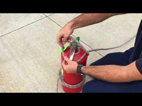 Hoisting An Extinguisher