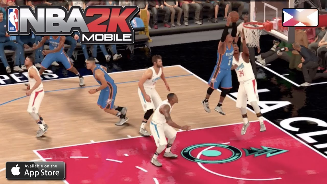 60a05fec7d3 NBA 2K MOBILE BASKETBALL - Scoring with Westbrook ONLY!!! - YouTube