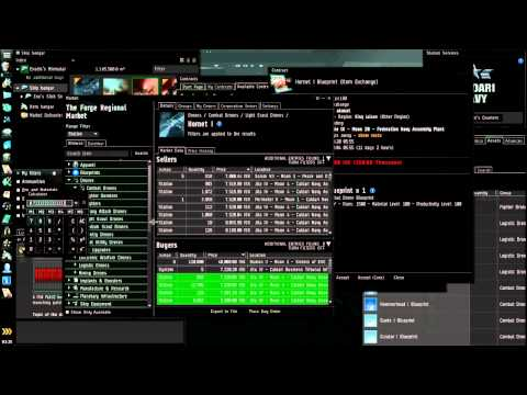 Eve Online Industry Tutorial - What is Profitable to Make (starting out)?