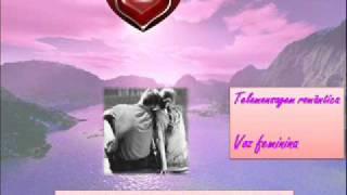 Telemensagem romântica: Eu te amo - voz feminina