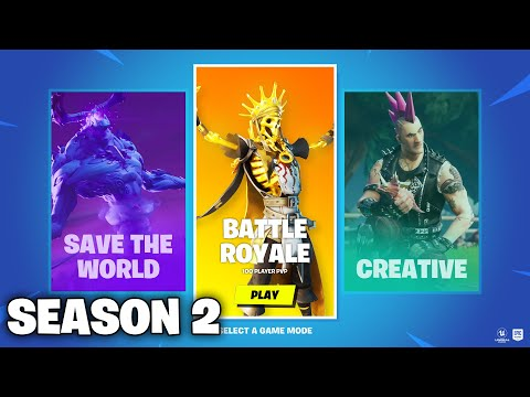 *NEW* FORTNITE SEASON 2 OUT NOW! NEW EVENT RIGHT NOW! MAX BATTLE PASS, NEW MAP! BATTLE ROYALE