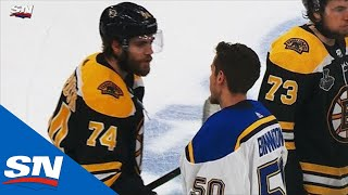 Download Blues Shake Hands With Bruins At Conclusion of Game 7 Of 2019 Stanley Cup Final Mp3 and Videos