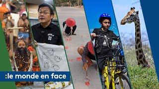 Une girafe sauvée,  des femmes cyclistes en Irak... Cinq infos passées sous les radars