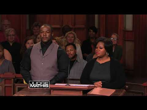 Judge Mathis Forces Man to Own Up to His Responsibilities