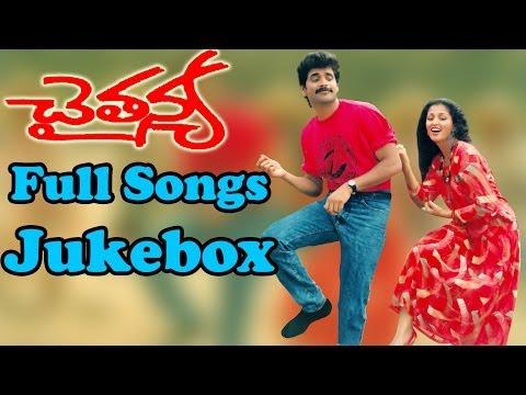 Chaitanya ( చైతన్య ) Telugu Movie || Full Songs Jukebox || Nagarjuna Gautami