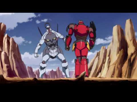 Gurren lagann first Gattai | Episode 3 | 1080p RAW