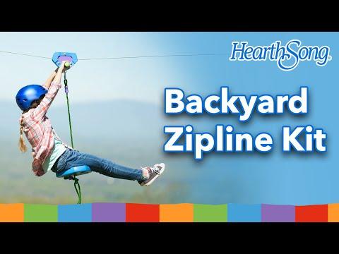 Backyard Zipline Kit