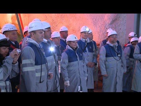 «ФосАгро» ввела в эксплуатацию новый Главный ствол на Кировском руднике АО «Апатит»