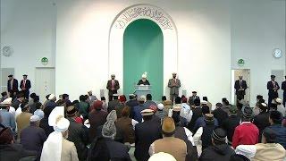 Freitagsansprache 4. September 2015 - Islam Ahmadiyya