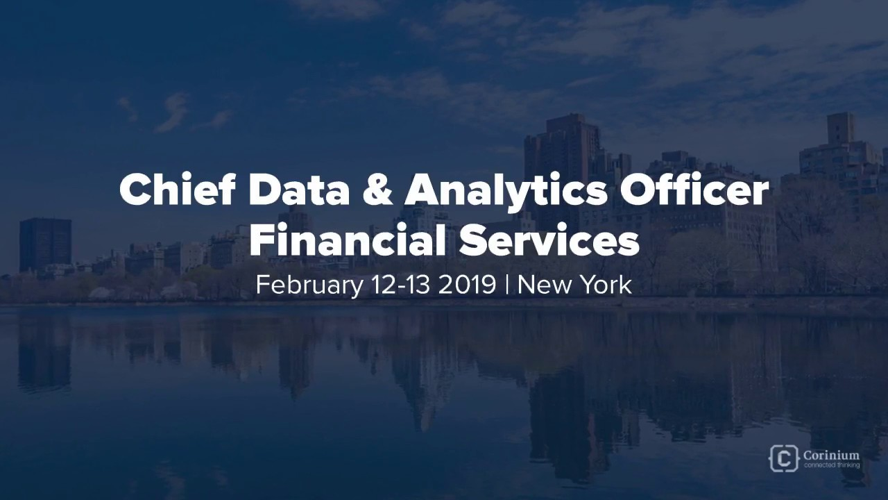 Chief Data & Analytics Officers & Influencers Financial