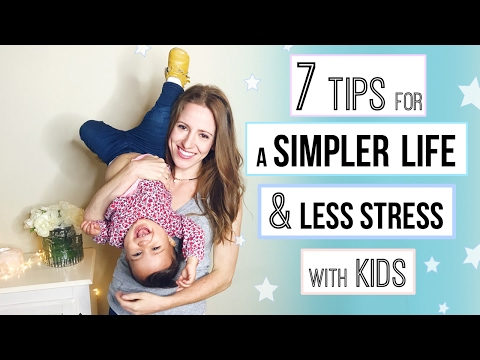 Tips for Living Simply & Minimalism with Kids