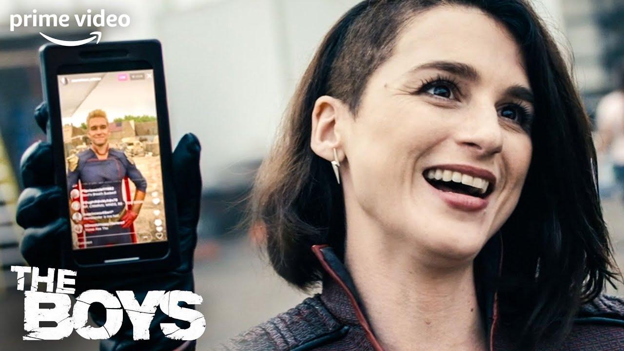 Stormfront stellt sich vor   The Boys   Staffel 2   Prime Video DE