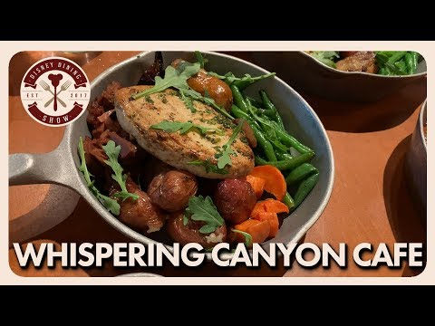 Whispering Canyon Review | All You Can Eat Skillets | Disney Dining Show | 08/19/19