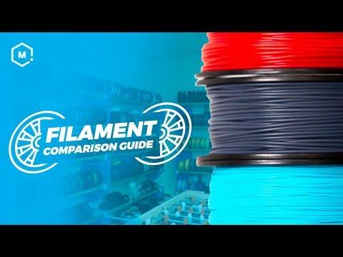 3D Printer Filament Comparison | MatterHackers