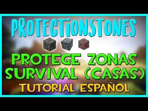 ProtectionStones | Protege Zonas Survival En Tu Servidor | Como Configurar Y Usar | Plugin Bukkit.