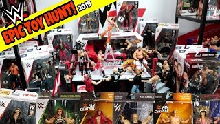 TOY HUNT!!! RARE WWE ACTION FIGURE DISPLAY #118