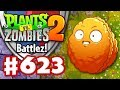 BATTLEZ! Explode-o-Nut Epic Quest! - Plants vs. Zombies 2 - Gameplay Walkthrough Part 623