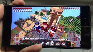Minecraft PE - COMO USO COMANDOS NO MINECRAFT POCKET EDITION