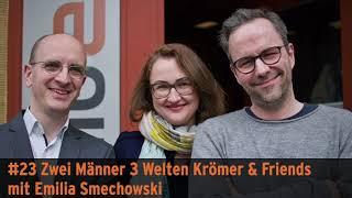 """""""Zwei Männer 3 Welten"""" – Krömer & Friends mit Emilia Smechowski"""