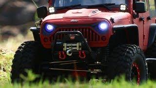 Rc crawler AXIAL SCX10ii Jeep Wrangler Rubicon Nature Park Trailing 096