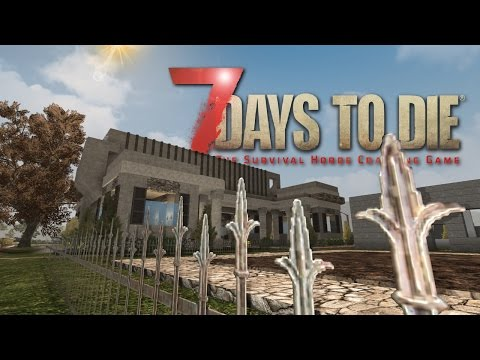 7 Days to Die Base Design tour #3 - Multiplayer - Day 1000 +