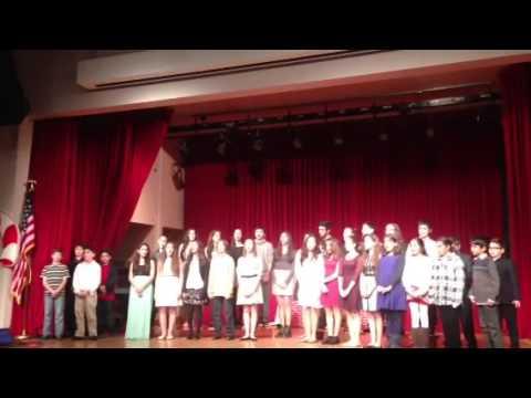 Christmas Hantes Celebration at KZV Armenian School