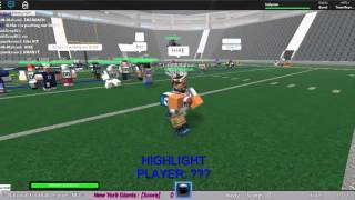 ROBLOX: =NFL= Week 6 Highlights : Panthers@Giants