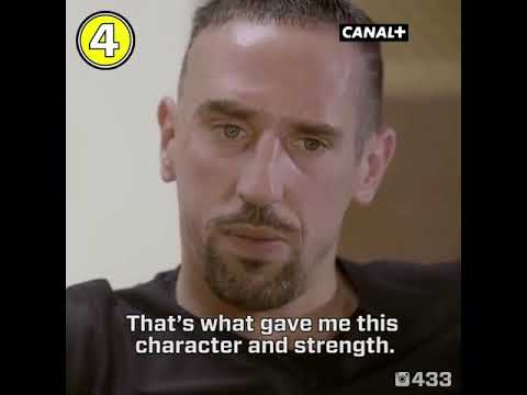 Franck Ribéry talks about the scar on his face (emotional)!😓
