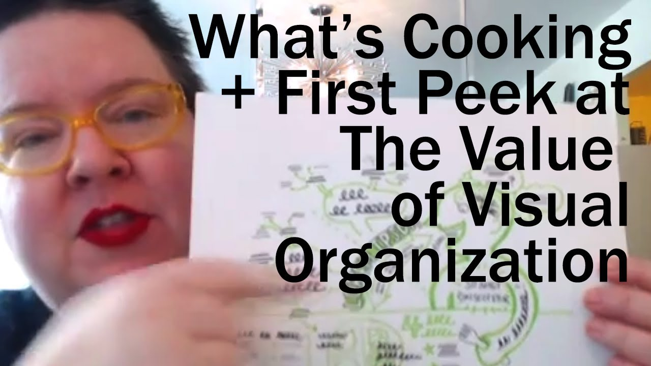 Download #studiotuesday | What's Cooking + 1st look at The Value of Visual Organization