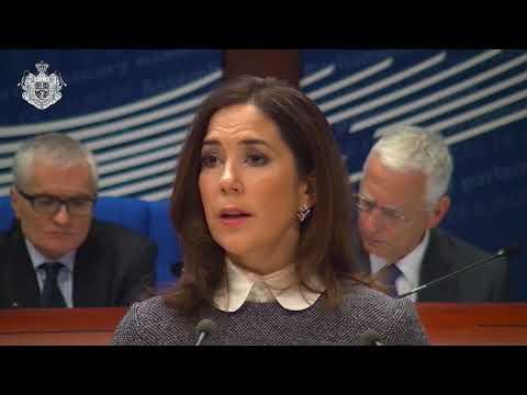 H.K.H. Kronprinsessen besøger Europarådet i Strasbourg